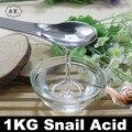 1 KG Caracol Líquido Ácido Que Blanquea la Reparación Hidratante Poros Acné Eliminar Facial Cosméticos Esencia 1000 ml