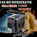 DHL UPS 6L12V  Car Refrigerator Mini Fridge Portable Freezer Automotive Cold Heating Dual-use TRAVEL Car Refrigerator CAMPING