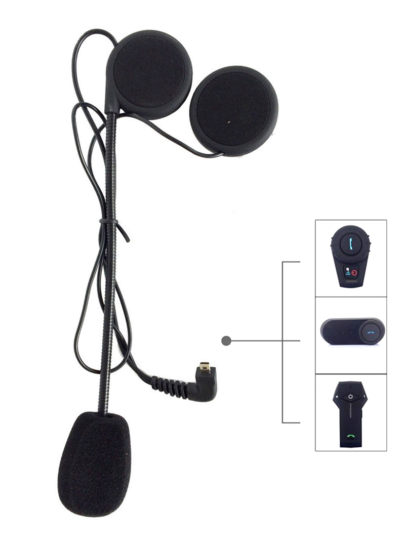 Freedconn Brand Microphone Fitting For Motorcycle Helmet Intercom Helmet Bluetooth Headset Earphone Mic Talking M1