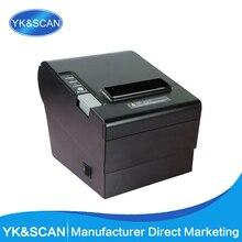 Auto-Cutter 80mm Thermique Imprimante Ticket YK-8030 Droite Thermique Conception D'impression pour caisse enregistreuse USB, LPT, PS/2 dans un