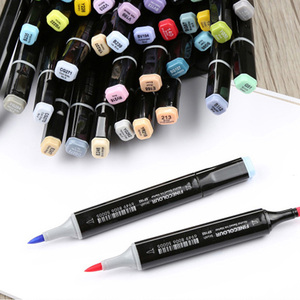 Image 2 - 480 Color Finecolour Dual Head Art Markers Pen Oily Alcoholic Sketch Marker Soft Brush Pen Art Supplies Markers Pen for Drawing