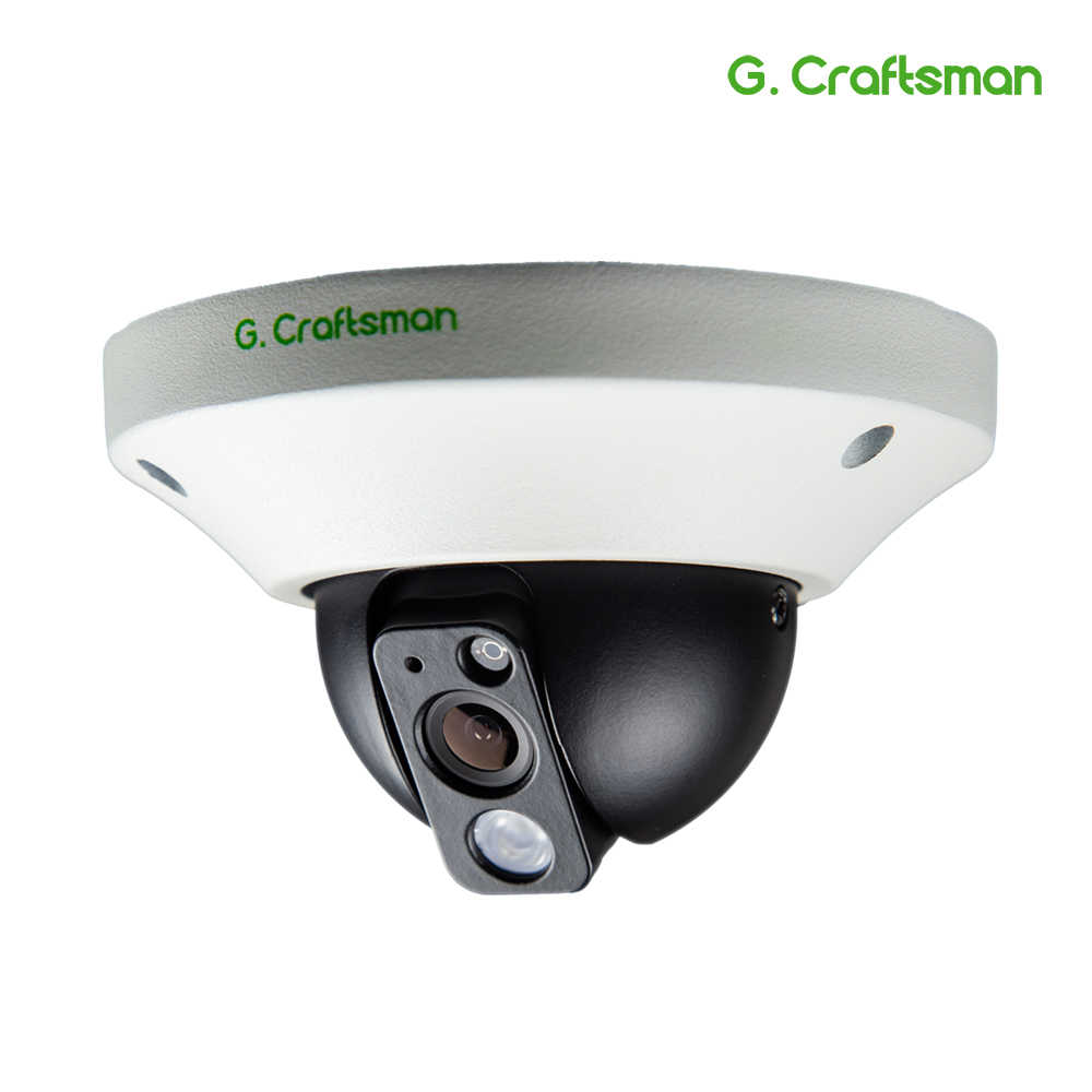 G. Craftsman Audio 5MP POE IP Camera Metal Dome Infrarood Nachtzicht CCTV Video UHD Surveillance Security Lift 5.0MP