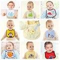 New ano de 0-3 anos de bebê bibs à prova d' água à prova d' água uma variedade de imagens de desenhos animados infantis saliva toalhas desgaste recém-nascidos panos do burp