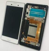 5.0 ''LCD pour SONY Xperia M4 Aqua LCD affichage E2303 E2306 E2353 E2312 écran tactile numériseur avec prise de cadre pour simple 1 sim