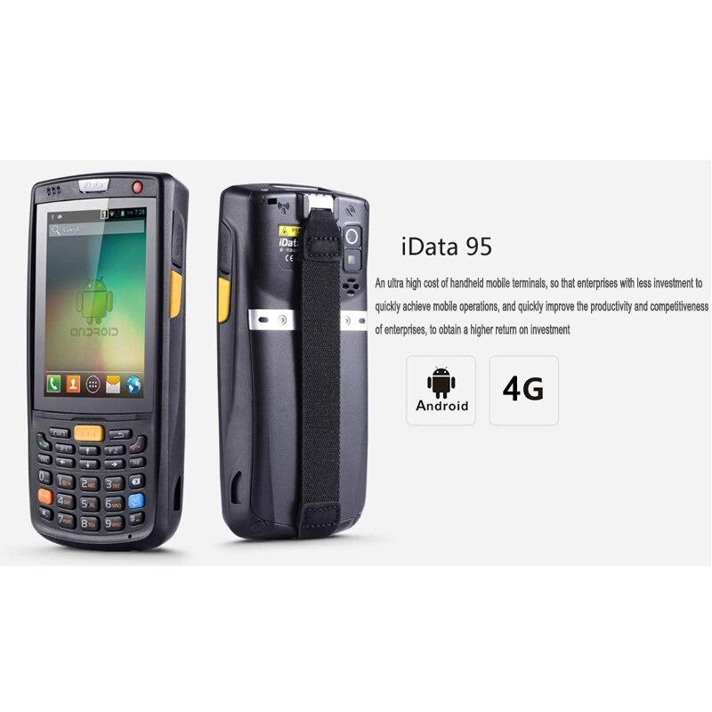 Recopilador de datos inalámbrico 4G con batería de alta capacidad de 6000 mAh SM iData95V PDA resistente Android con Wifi, Bluetooth, GPS - 6