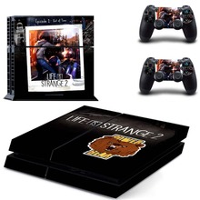 Life is Strange 2 Vinyl PS4 Full Cover Skin Sticker for Sony Playstation 4 Console  and Two Controller Stickers Accessories