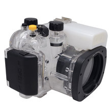 40m 130ft Waterproof Box Underwater Housing Camera Diving Case For Canon G16 as WP DC52 Bag Case Cover Bag