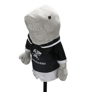 Image 3 - Golf headcover clubs driver Shark pets unisex  golf clubs protect covers
