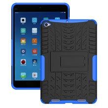 Capa de tablet para xiaomi mipad 3 7.9, capa de tpu e pc com estampa de pneu para xiaomi mipad 2 capa funda + presente mi pad 2