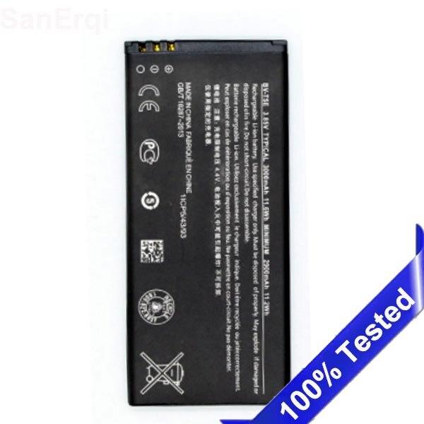 Для Microsoft <font><b>Lumia</b></font> <font><b>950</b></font> BV T5E Батарея BV-T5E BVT5E RM-1106 RM-1104 RM-110 3000 мАч полный Ёмкость Батареи sanerqi