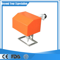dot peen pneumatic flange dough rolling marking machine for metal parts
