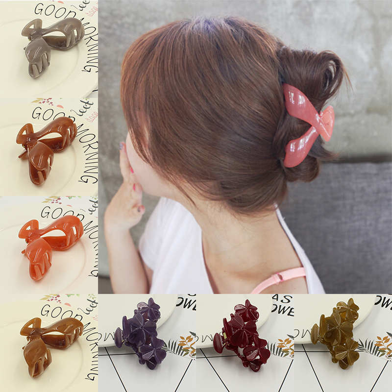 2017 New Fashion Big Hair Clip Hair Claws Clips Hair Accessories For Women Girls Headwear Hair Crab Clamp Hot S Free Shipping women headwear 2017 retro hair claw cute hair clip for girls show room vitnage hair accessories for women
