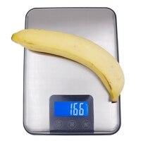 15 кг 1 г сенсорный экран Нержавеющаясталь цифровые электронные весы масштаб портативные весы для кухни баланс скидка 39%