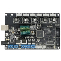Motherboard 3D Printer Mainboard Compatible Mega 2560 & Ramps1.4 4 Layers Pcb Controller Board For Reprap|3D Printer Parts & Accessories| |  -