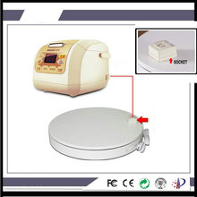 HQ SE02 Outlet Socket 400X60MM Electric Rotary Rotating Turntable 360 Degree Display Stand for Electric Items Display