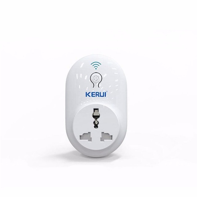 KERUI Smart WiFi Remote Control Timer / Delay Socket Outlet Switch,IOS Android APP Control Electronics from Anywhere