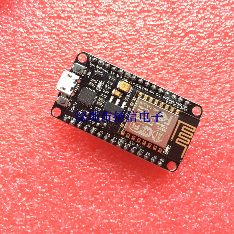 Lua WIFI NodeMcu Internet of things development board based on CP2102 ESP8266 based on 51 of the almighty wireless development board nrf905 cc1100 si4432 wireless evaluation board