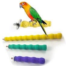 Animais de estimação pássaro brinquedos papagaio mastigar moagem garra suporte poleiros gaiola cockatiel periquito pendurado brinquedo cwjwj13