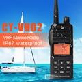 IP67 водонепроницаемый long range CY-VH02 Морских радио walkie talkie vhf 154-163 МГц Кв Трансивер