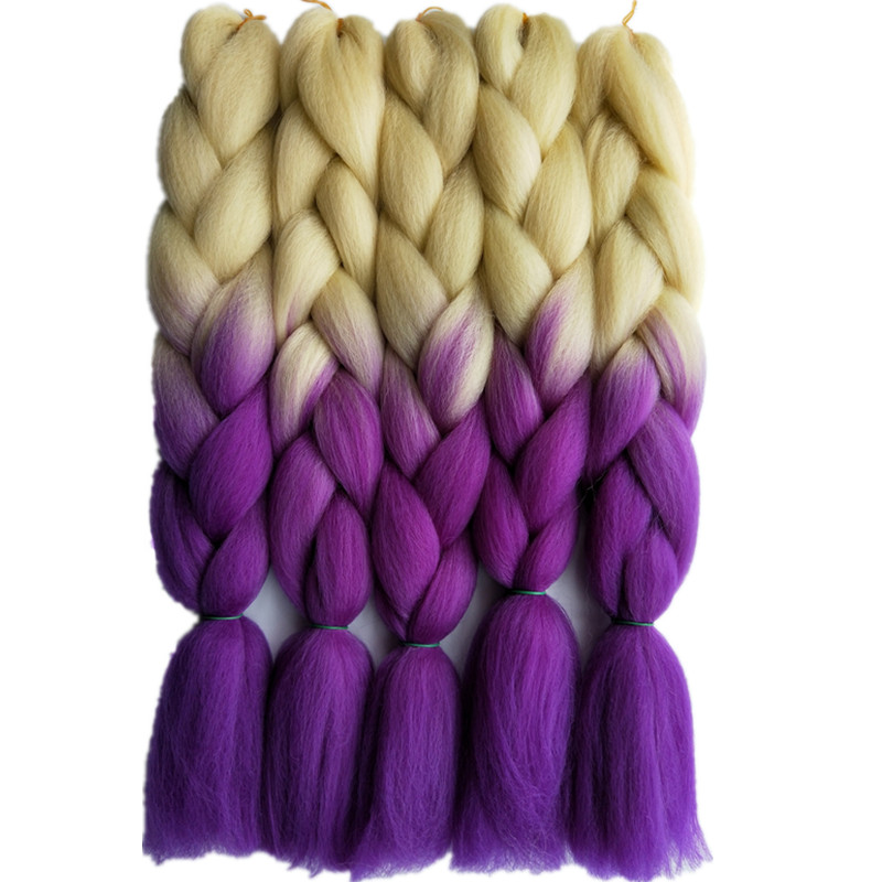 Hot Sale Pervado Hair Synthetic Jumbo Braids Hair Extensions For