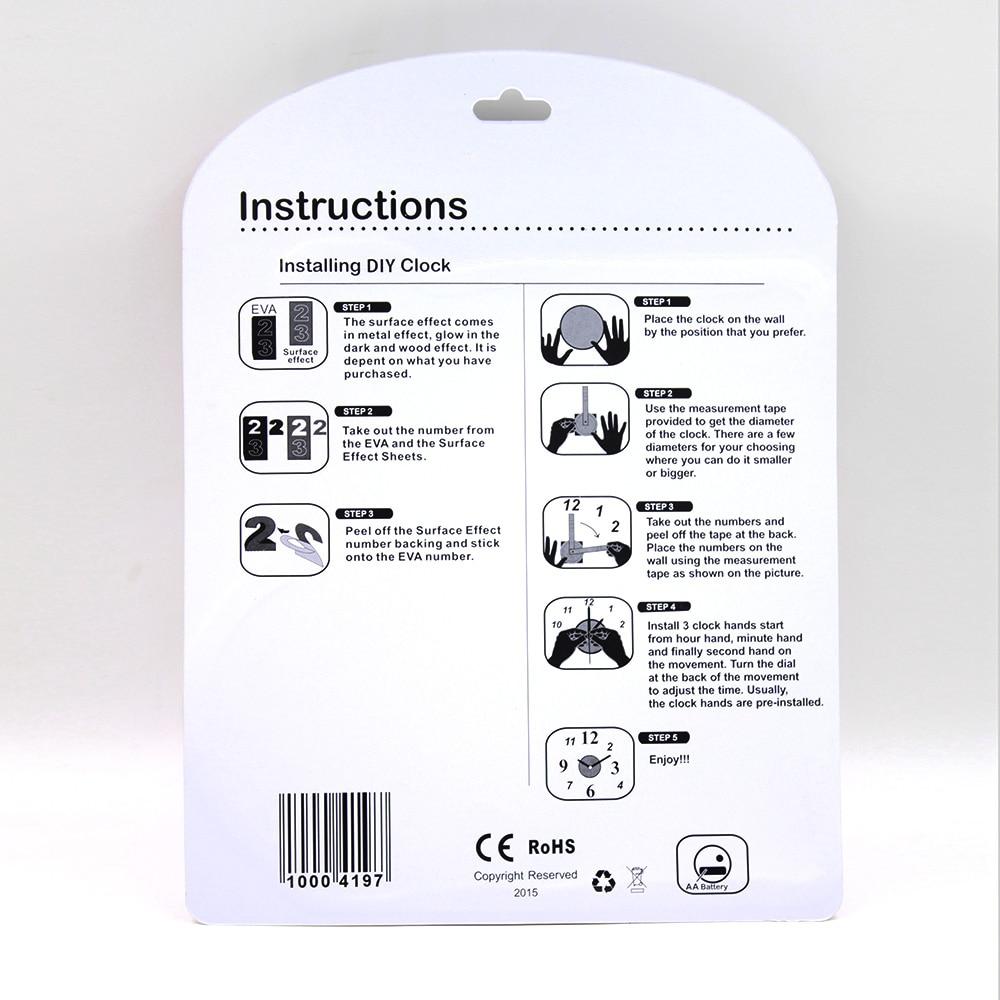Νέα άφιξη 10EW101 Αυτοκόλλητο μόδας EVA - Διακόσμηση σπιτιού - Φωτογραφία 6