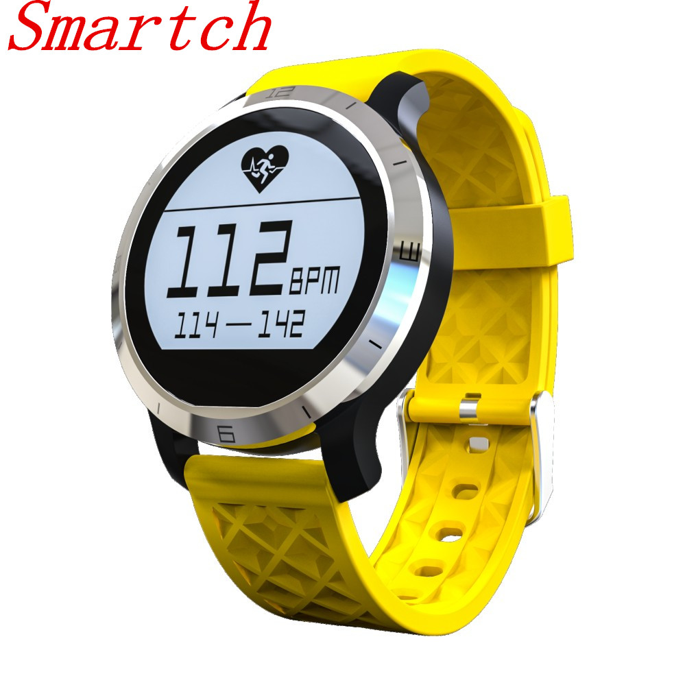 Smartch F69 Smart Watch for Swimming Heart Rate Monitor Wristwatch IP68 Water Resistant Smartwatch Pedometer for