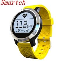 Smartch F69 Смарт часы для Одежда заплыва сердечного ритма Мониторы наручные IP68 Водонепроницаемость SmartWatch шагомер для Android и IOS
