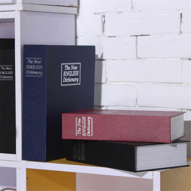 Kid Tặng Từ Điển Mini Hộp Sách Ẩn Bí Mật Bảo Mật An Toàn Khóa Phím Tiền Trang Sức Giấy Chứng Nhận Lưu Trữ Mật Khẩu Khóa
