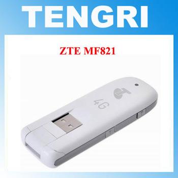 Oryginalny odblokowany ZTE MF821 MF821D 100 mb s 4G LTE modem USB 42M 3G UMTS USB mobilna łączność szerokopasmowa karta danych dongle LTE pamięć USB tanie i dobre opinie Huawei Zewnętrzny Pulpit 4G Karty wireless