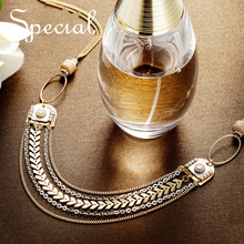 SPECIAL western multi-layer short necklace neck chain female temperament clavicle  fragrant street night S2745N