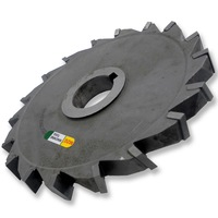 MZG Cutting Wrong Tooth 75 200mm Welding Edge Type Tungsten Steel Side Milling Cutter T Groove