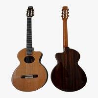 Aiersi бренд ручной работы все твердые реплики SCHERTLER PAGELLI Классическая гитары SC03ARCS