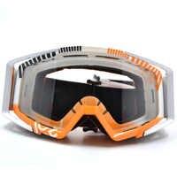 BJGLOBAL очки для мотокросса мотоциклетные очки ATV прозрачные линзы лыжные очки для шлема внедорожный для мотоциклетного шлема Dirtbike