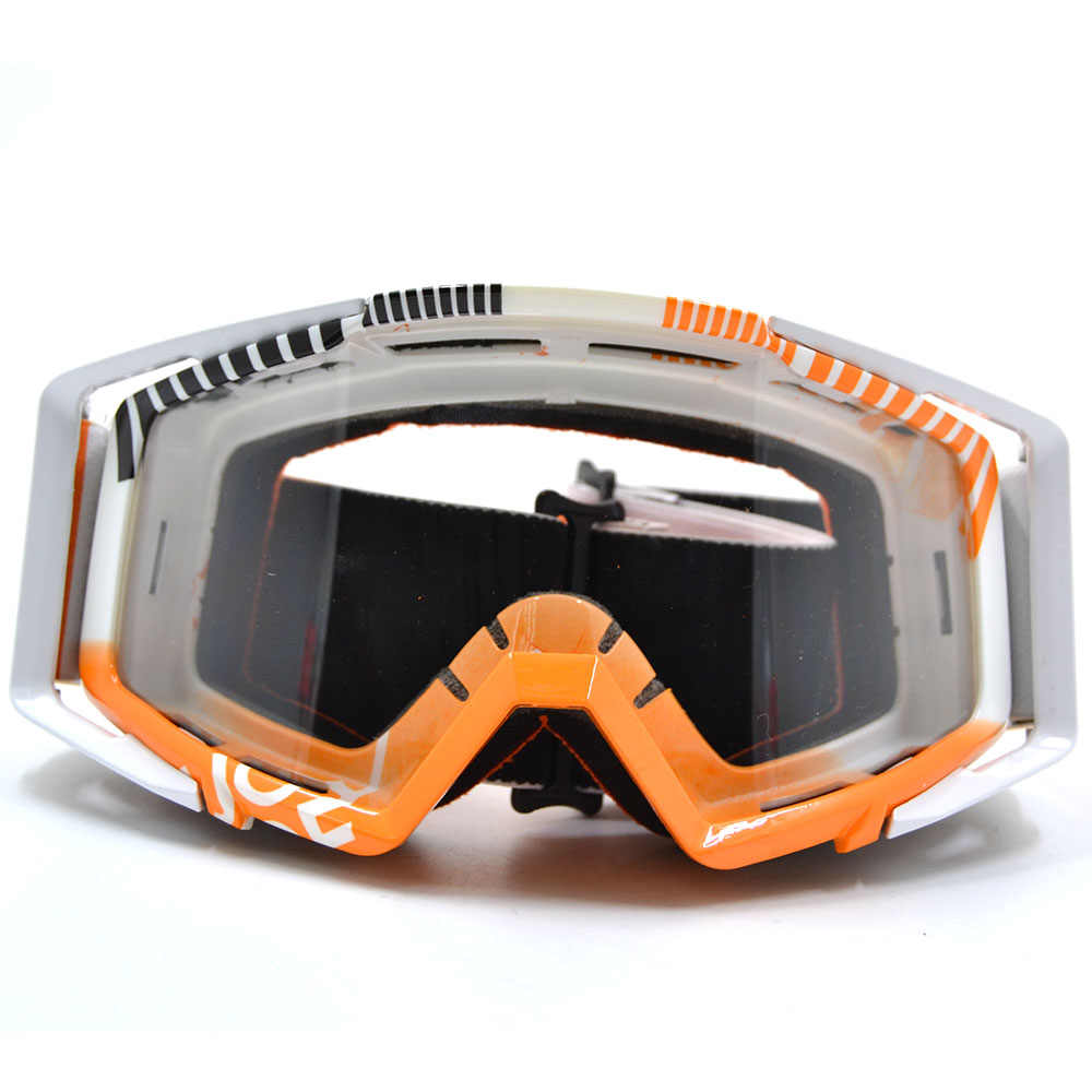 0ca42d4e9e4f BJGLOBAL Motocross Goggles Motorcycle Goggles Glasses ATV Clear Lens Ski  Helmet Googles Off-road For