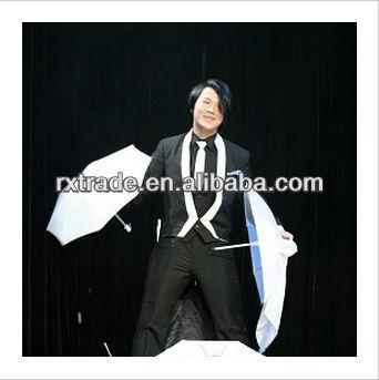 Costume for umbrella magic tricks magic props
