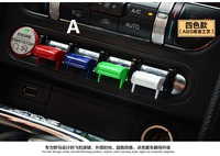 Fit for Ford Mustang 2015 2017 ABS Key buttons control navigation Button trim items optionss