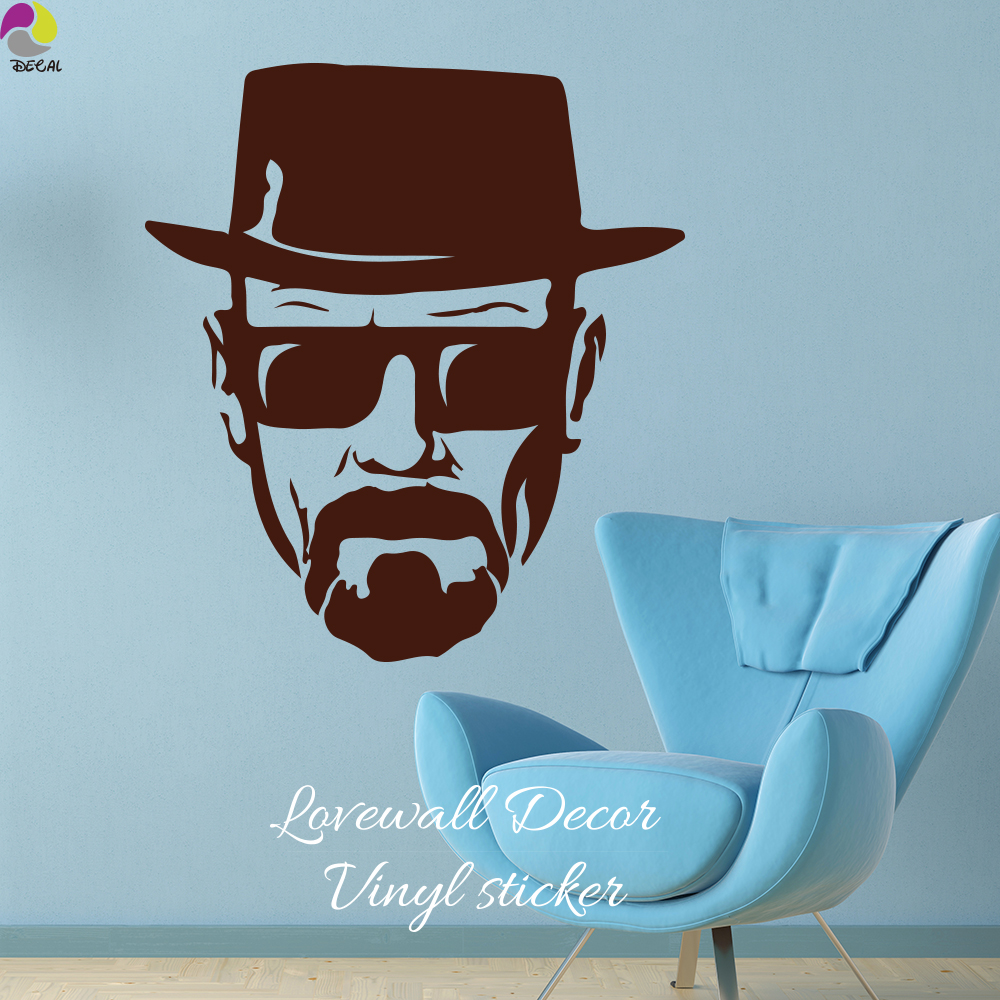100 breaking bad home decor online get cheap heisenberg modern breaking bad heisenberg glass wall sticker sofa bedroom amipublicfo Choice Image