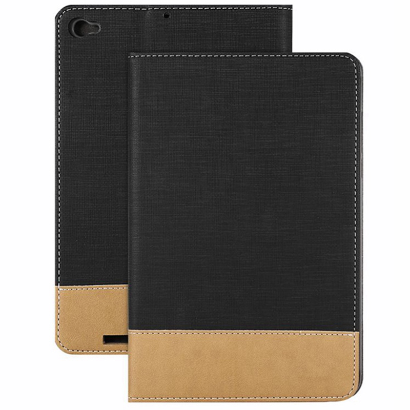 High quality Canvas Grain PU Protective Case for Xiaomi Mi Pad 3 New Protector Sleeve Covers 7.9 inch PU Cases For Mipad 3
