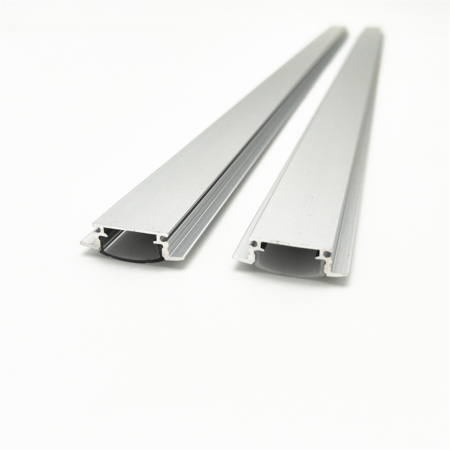 1-10sets 50cm Embed Led Aluminum Profile Bar Light Housing Mikly Clear Covers Clip Channel For 10mm PCB Strip Recess Extrusion
