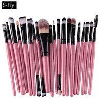 20PCS Makeup Brushes Set Tool Kit Foundaton Mascara Lip Eyeshadow Brushes Eyebrow Make Up Brush Set