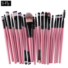 20PCS Makeup Brushes Set Tool Kit Foundaton Mascara Lip Eyeshadow Brushes Eyebrow Make Up Brush Set Styling Pincel De Maquiagem