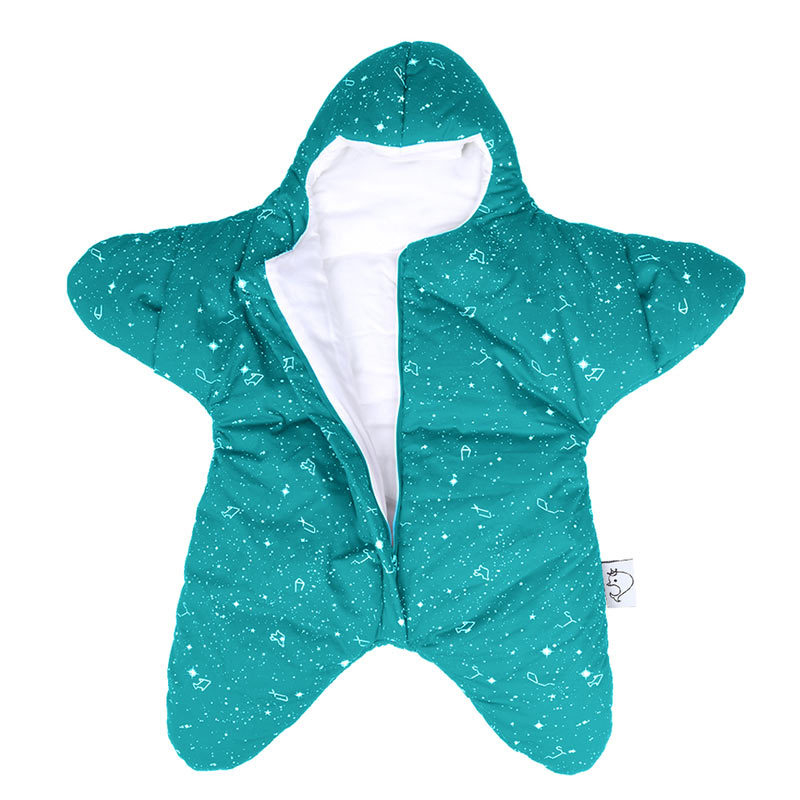 Brand High Quality Baby Blanker Sleepers Starfish Shaped Infant Stroller  Sleeping Bag Thicken Warm Long Sleeve Pajamas for 0 8M-in Blanket Sleepers  from ... 6623eb64c