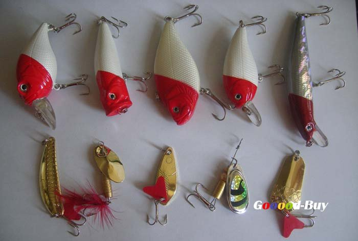 Рыболовная блесна-приманка карандашные приманки/снасти крючок оптовик набор, 10 шт./партия