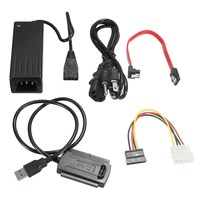 USB zu IDE SATA USB zu Seriell/Parallel Port 2,5/3,5/5,25 Zoll Multifunktions 3 IDE Festplatte HD HDD Konverter Adapter Kabel
