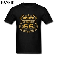 Men T Shirts Awesome Short Sleeve O Neck Tee Shirt For Men Route 66 Mother Road