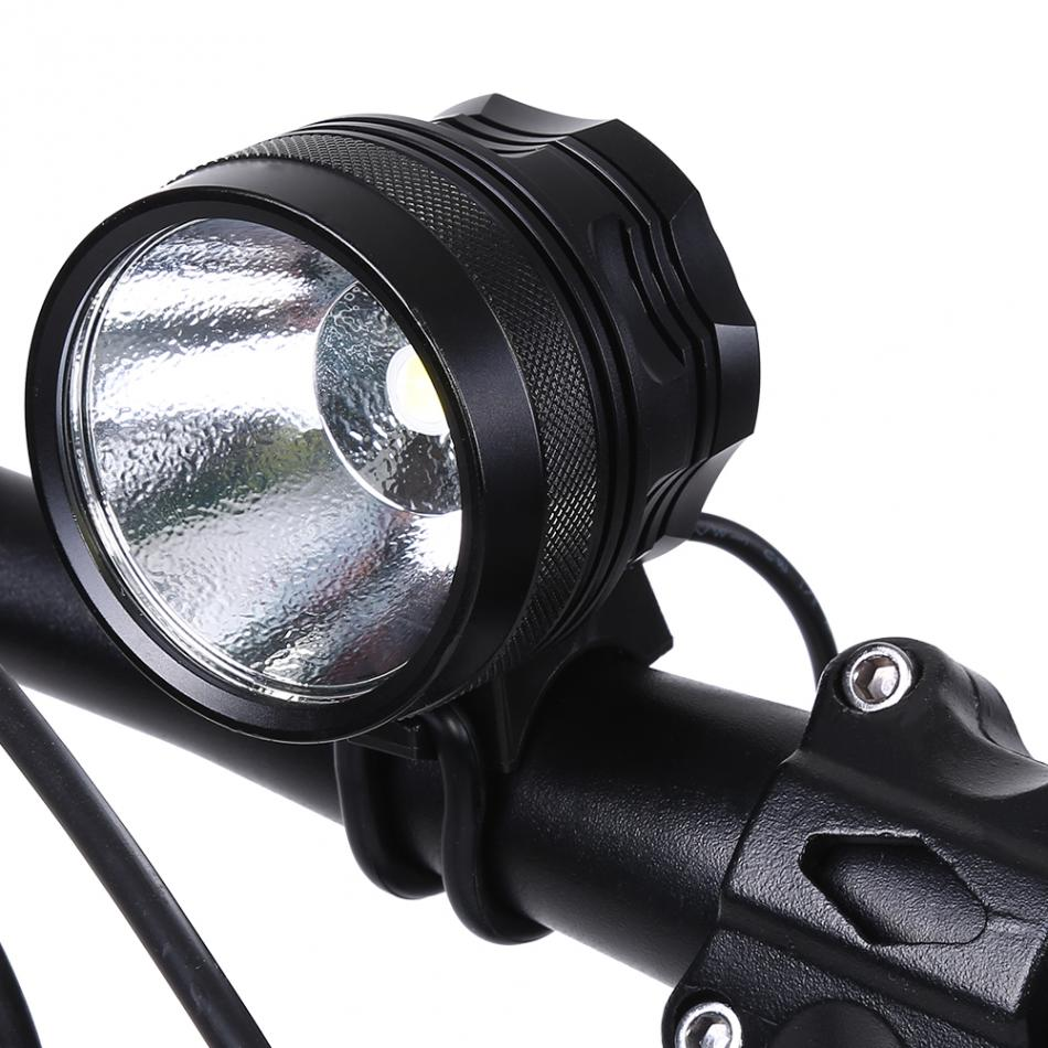Rainproof Bicycle LED Head Light Strong Power Bike Front Light Aluminium Alloy USB Charging Headlight Of 5 Models High Quality