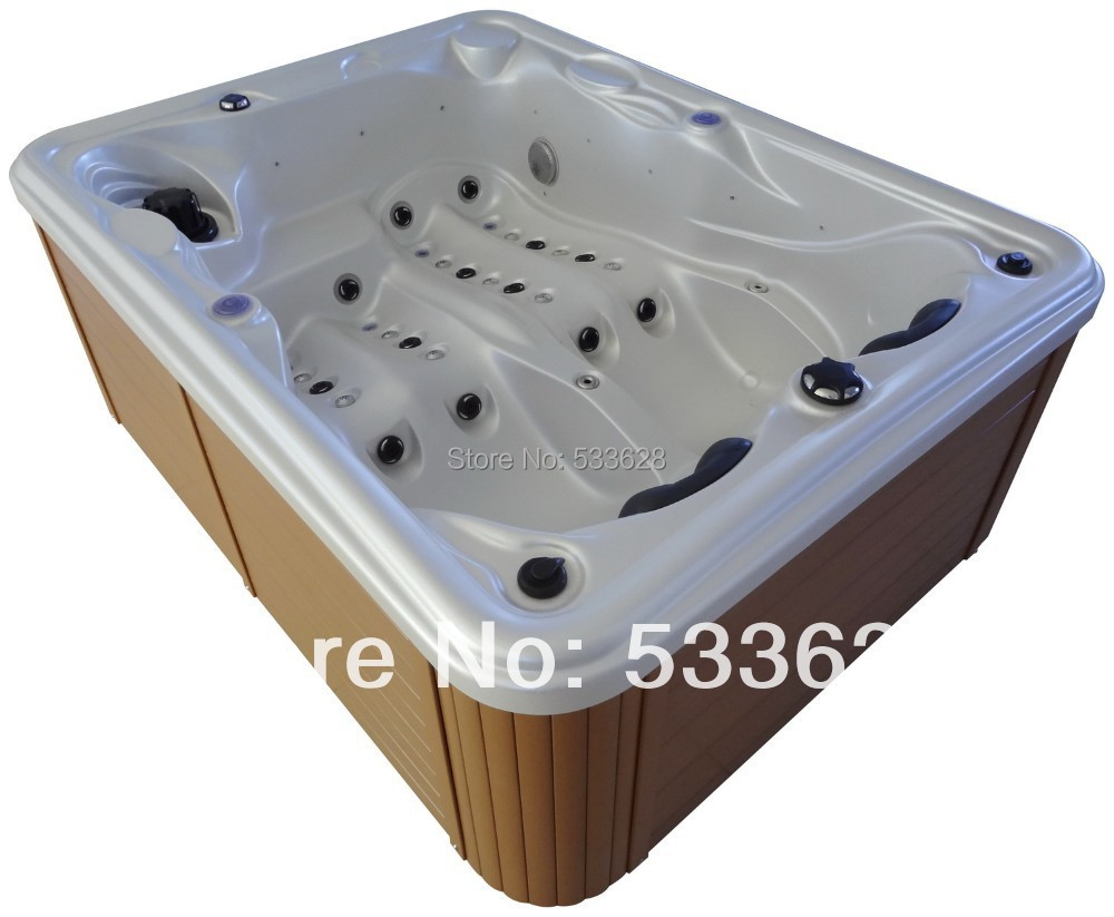 silver person outpost watch hot tub star tubs qca spas