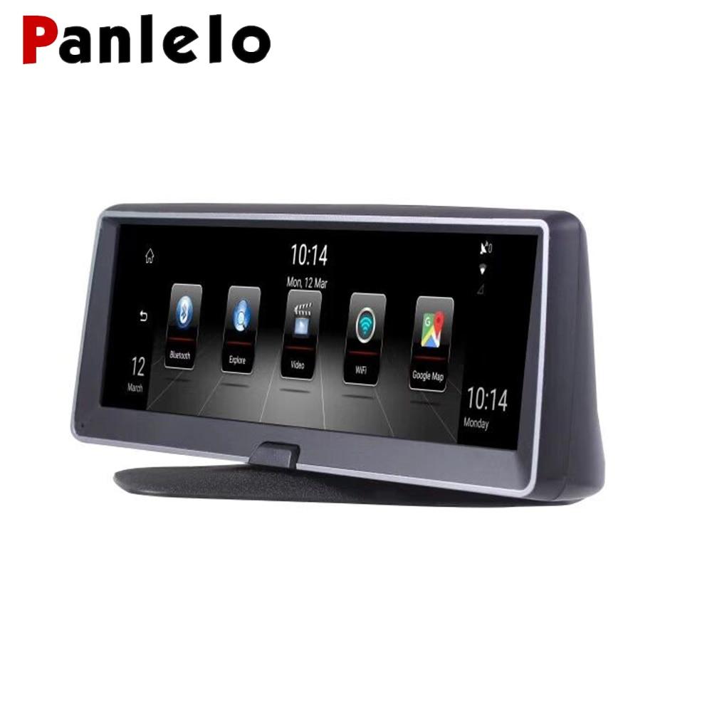Panlelo Car GPS Navigation Android 5 0 1280 400 3G 7 84 inch GPS Bluetooth Wifi