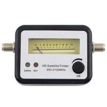 Satélite Digital Signal Buscador de Señal de Alineación Satfinder Metros Brújula TLC Receptor de Señal de TV y Buscador de Almacén Al Por Mayor