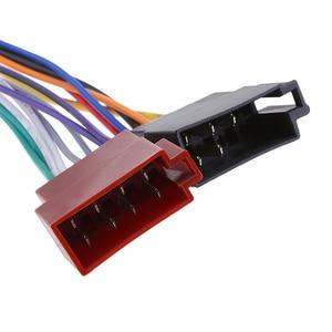 Image 5 - Adaptador arnés de Cable de coche para Kenwood / JVC estéreo para coche Radio ISO estándar, adaptador de conector de 16 Pines, Plug Play, 1 Uds.